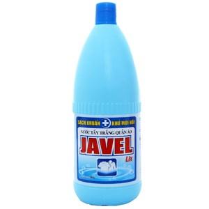 Nước tẩy quần áo trắng Javel Lix 1kg